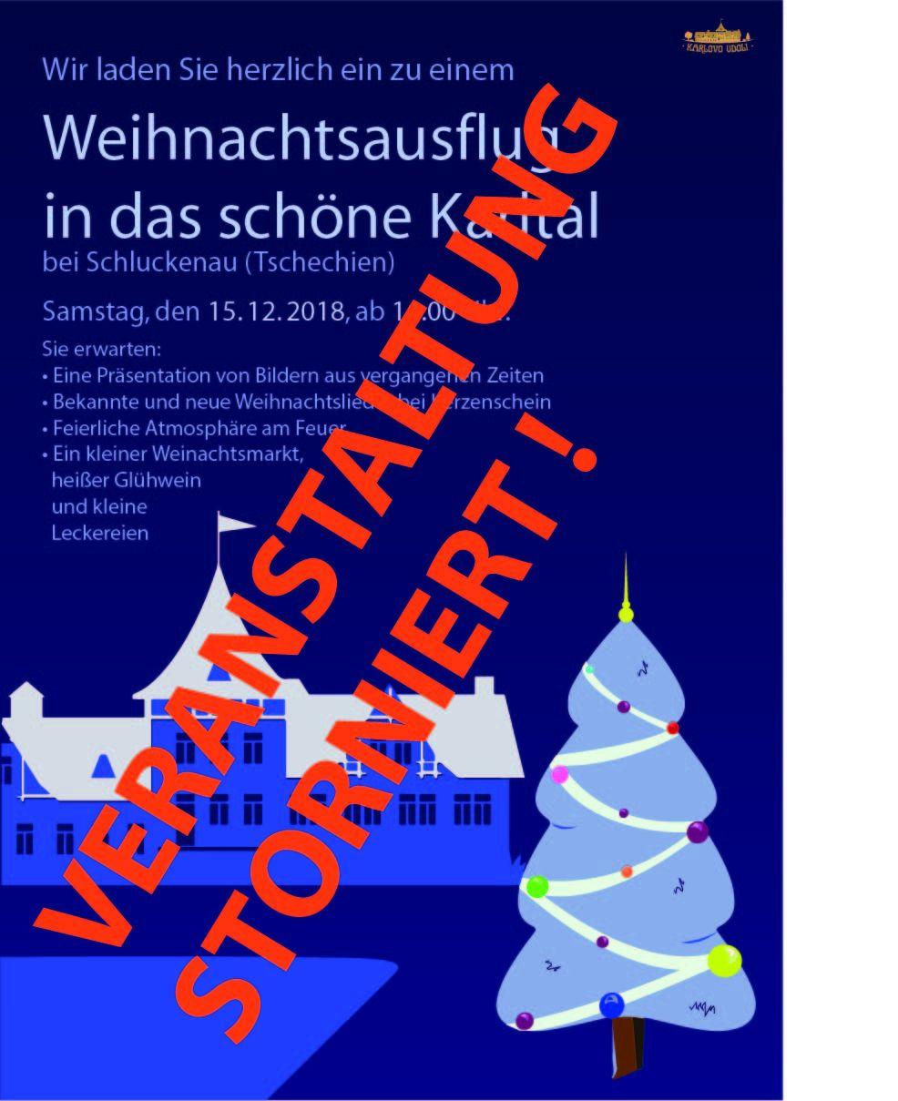 Einladung zum Weihnachtsfest