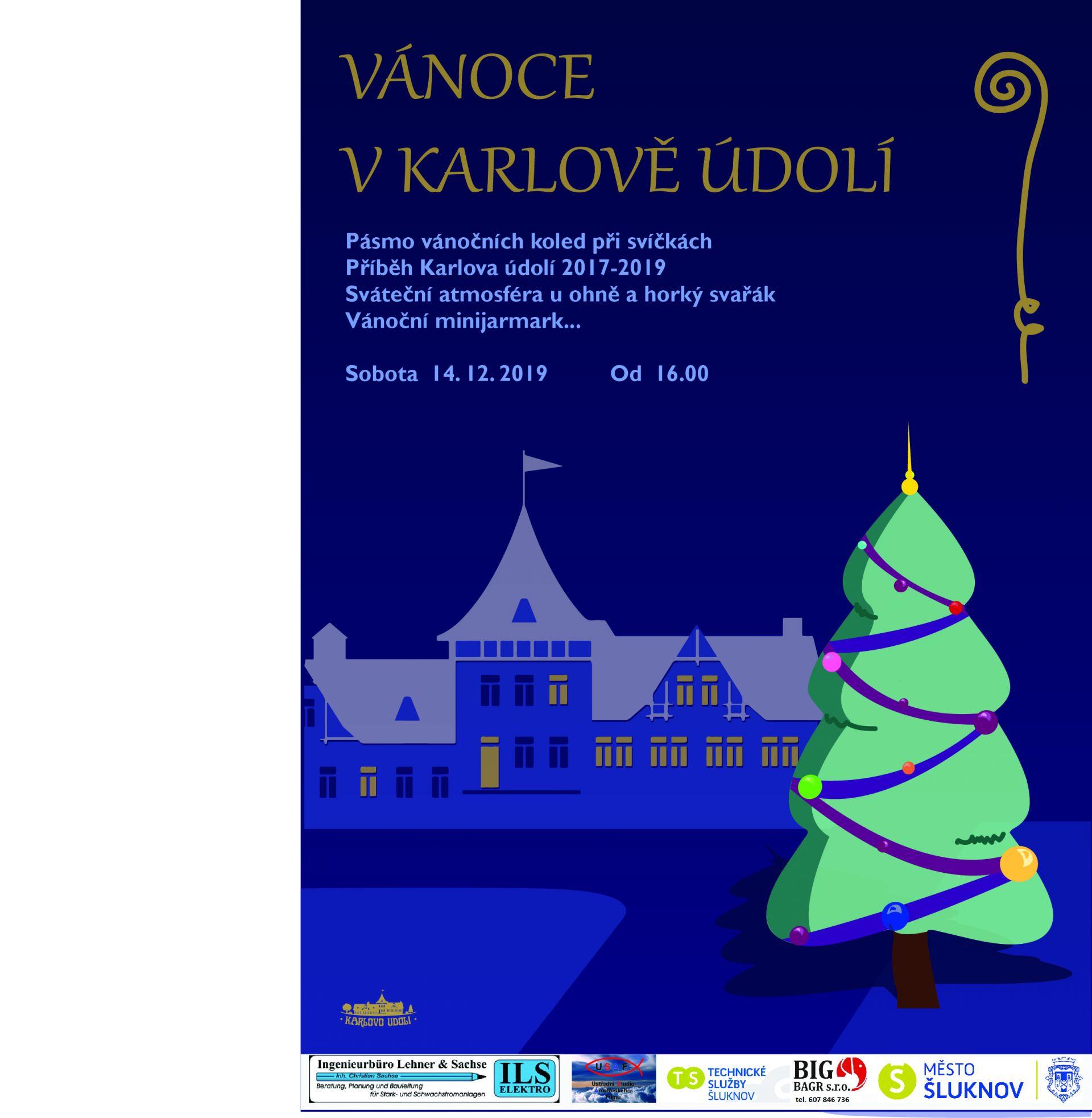 Vánoční procházka do Karlova údolí 2019